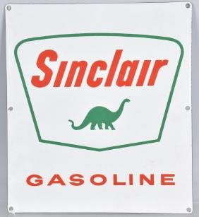 SINCLAIR GASOLINE PORCELAIN SIGN w/ DINO