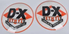 2- D-X ETHYL MOTOR FUEL GAS GLOBE LENSES