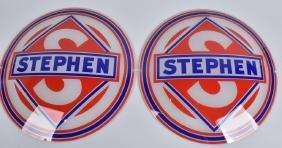 2- STEPHEN GAS GLOBE LENSES