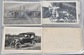 50+ EARLY AUTOMOBILE POST CARDS