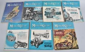 7- 1950s THE MOTOR CYCLE MAGAZINE