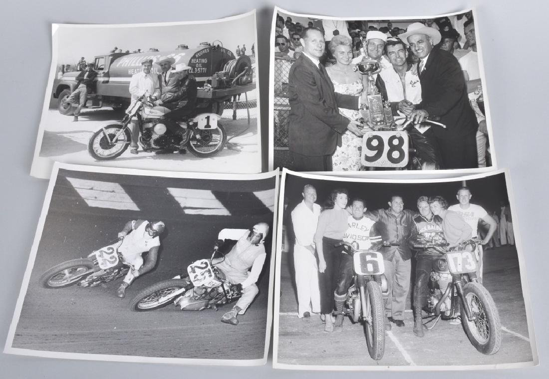 10- MOTORCYCLE RACING 8X10 PICTURES - 2