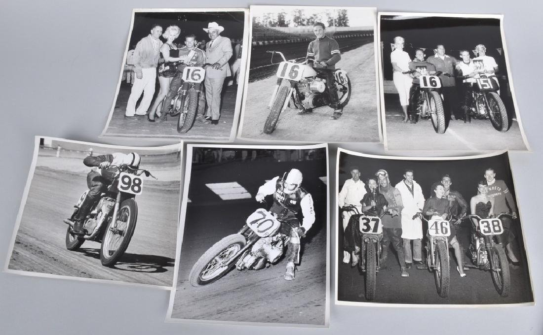 10- MOTORCYCLE RACING 8X10 PICTURES - 3