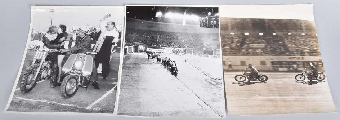 10- MOTORCYCLE RACING 8X10 PICTURES - 4