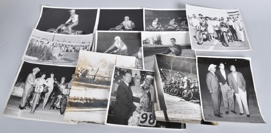 10- MOTORCYCLE RACING 8X10 PICTURES