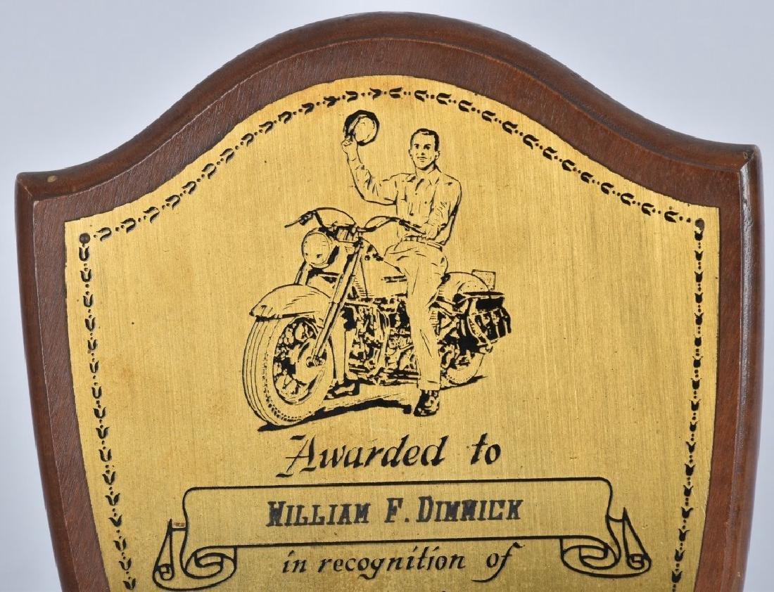 1950s HARLEY DAVIDSON 25 YEARS SERVICE AWARD - 2