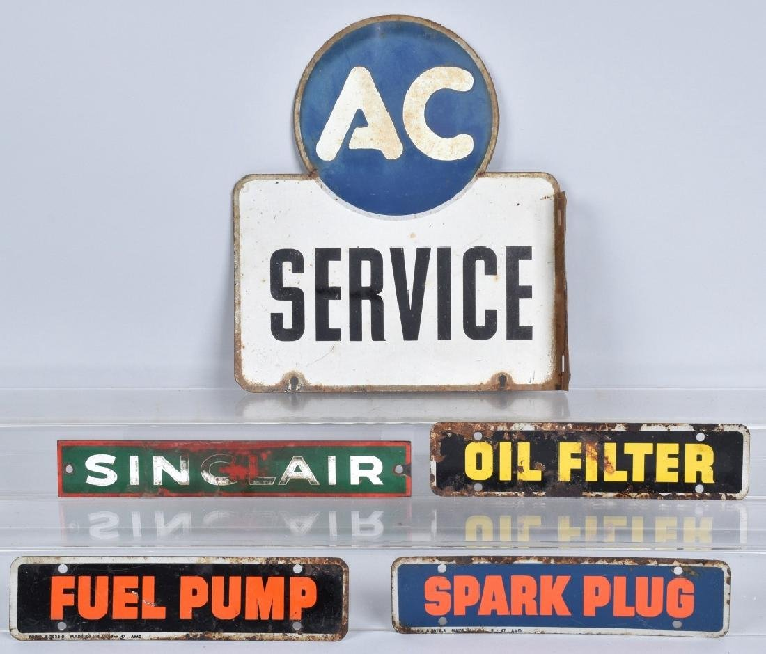 AC SERVICE TIN DS FLANGE SIGN & MORE