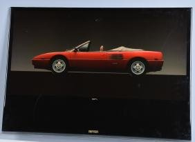 FERRARI MONDIAL T DEALER SHOWROOM SIGN