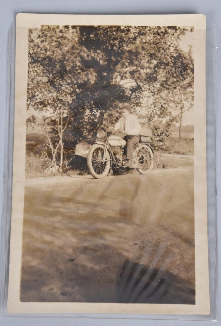 4- EARLY MOTORCYCLE POST CARDS - 5