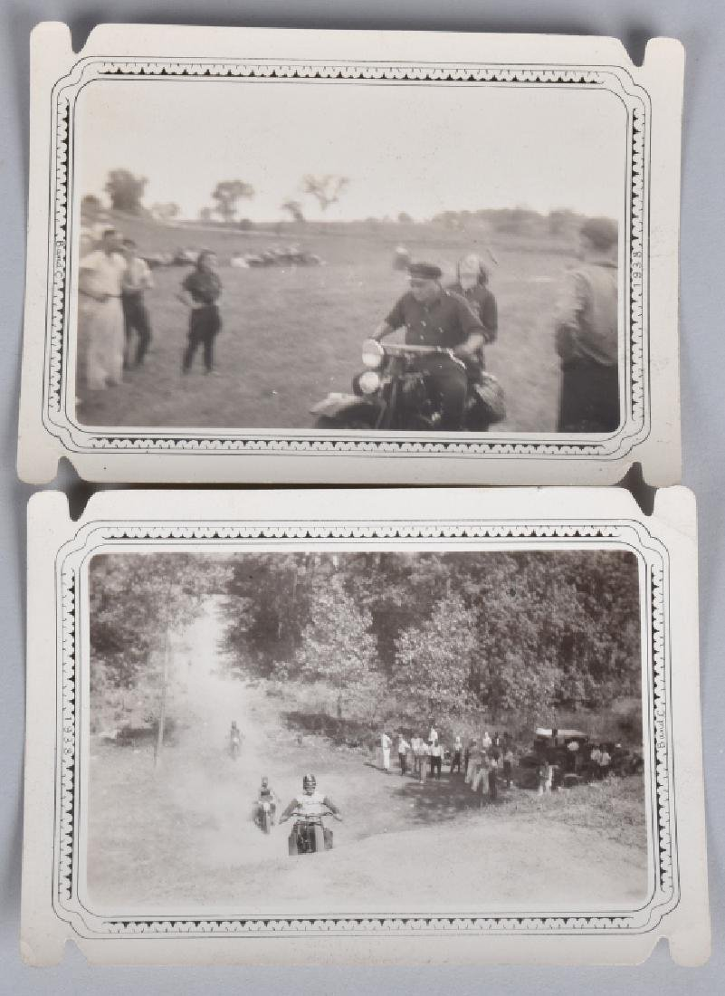 5- EARLY MOTORCYCLE HILL CLIMB PICTURES - 2