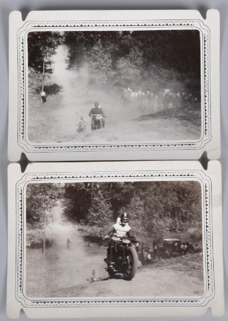 5- EARLY MOTORCYCLE HILL CLIMB PICTURES - 3