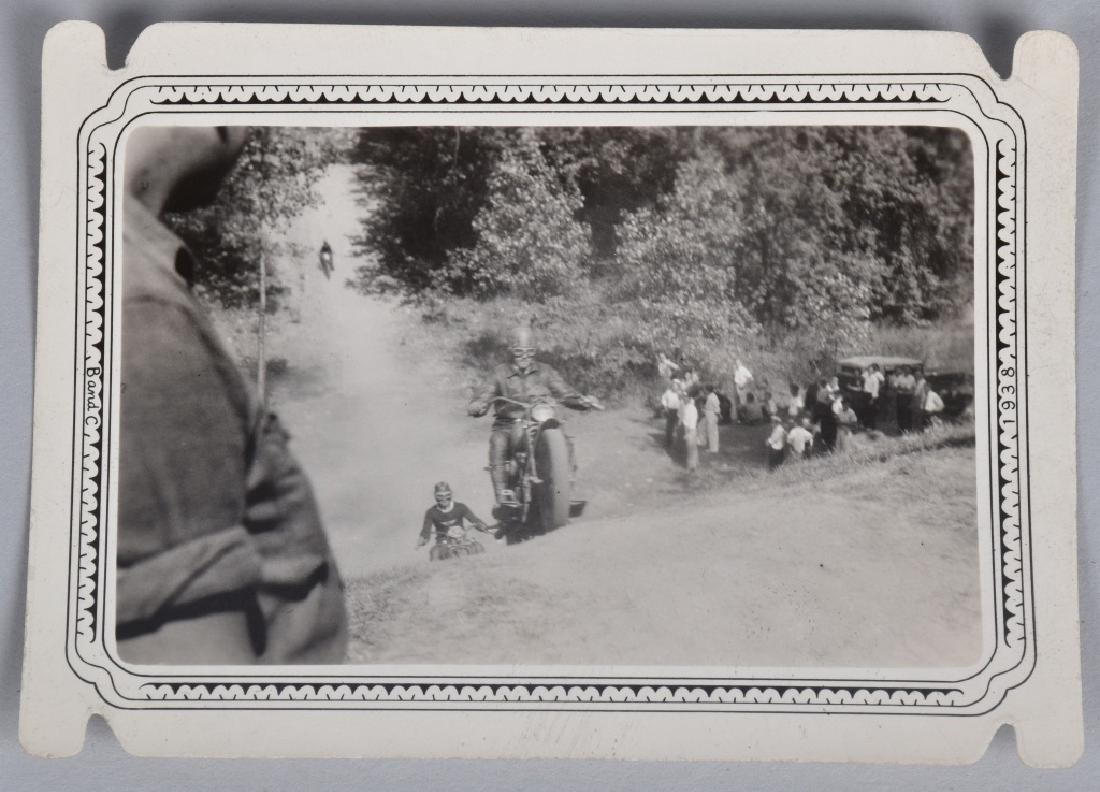 5- EARLY MOTORCYCLE HILL CLIMB PICTURES - 4
