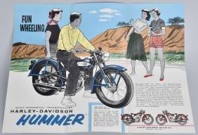 1959 HARLEY DAVIDSON HUMMER CATALOG