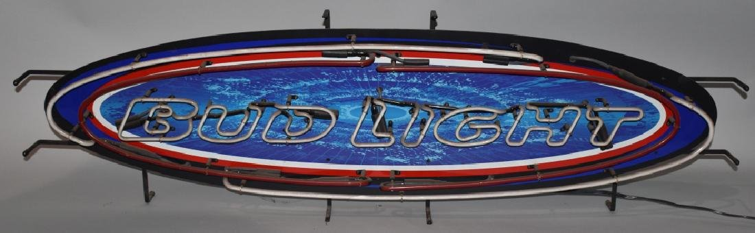 BUD LIGHT SURFBOARD NEON LIGHT
