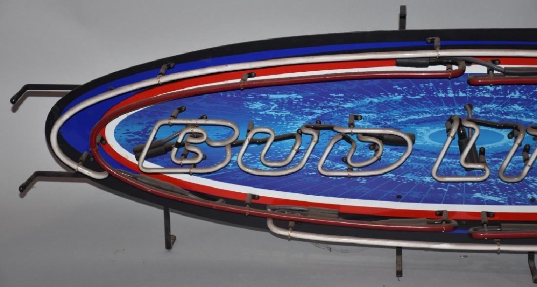 BUD LIGHT SURFBOARD NEON LIGHT - 2