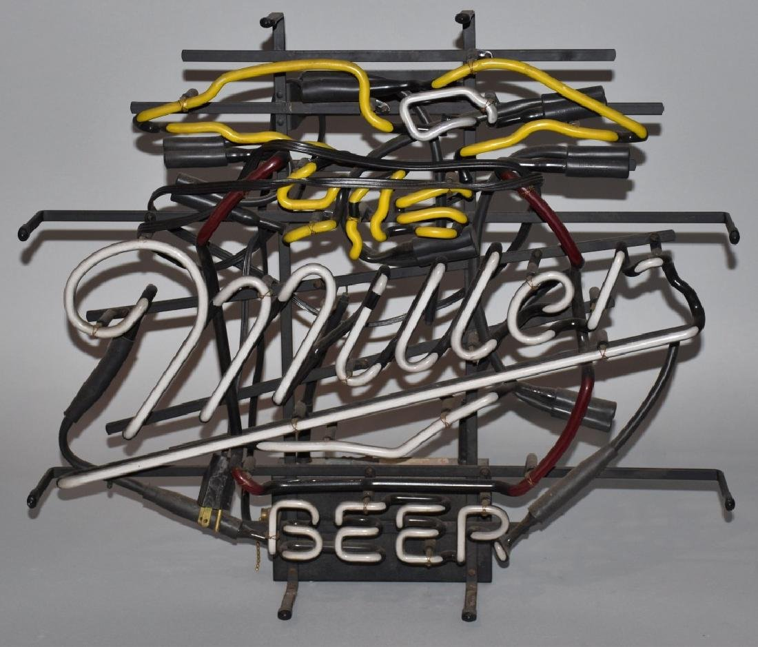 MILLER BEER EAGLE NEON LIGHT