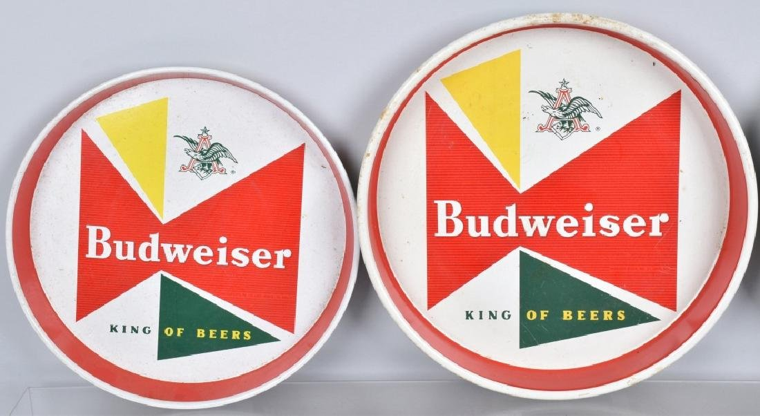 5- VINTAGE BUDWEISER SERVING TRAYS - 2