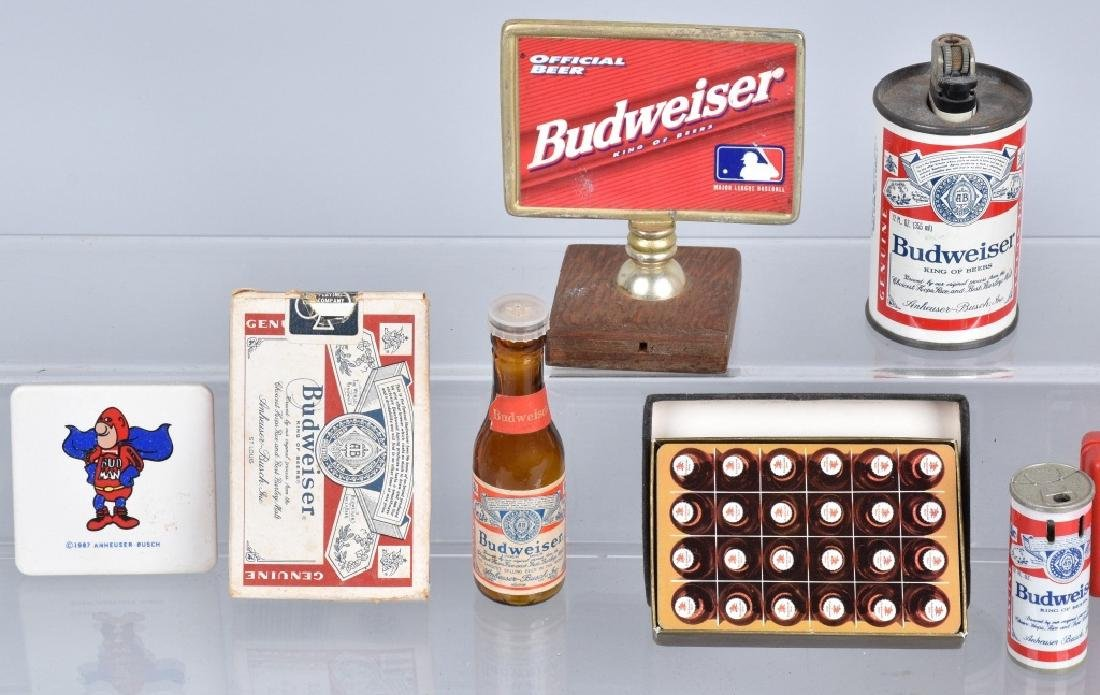 Lot of VINTAGE BUDWEISER ITEMS - 2