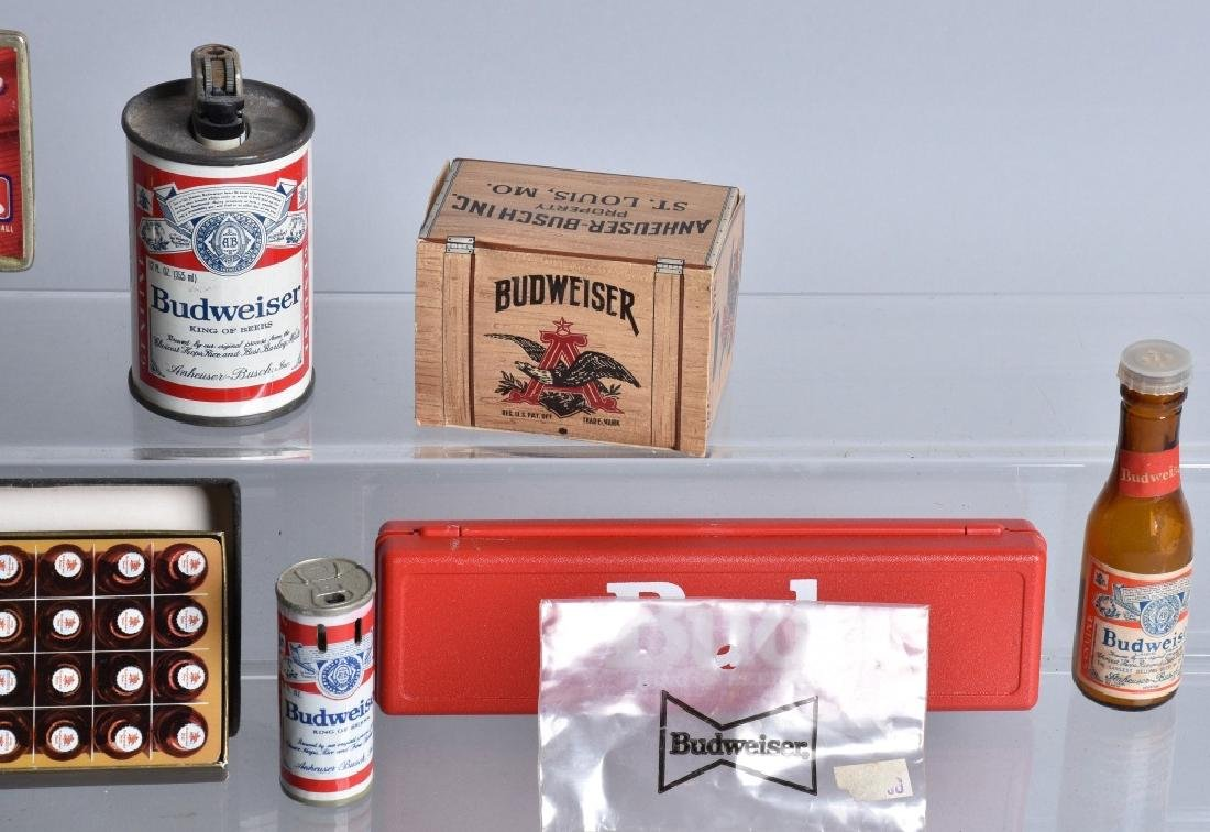 Lot of VINTAGE BUDWEISER ITEMS - 3