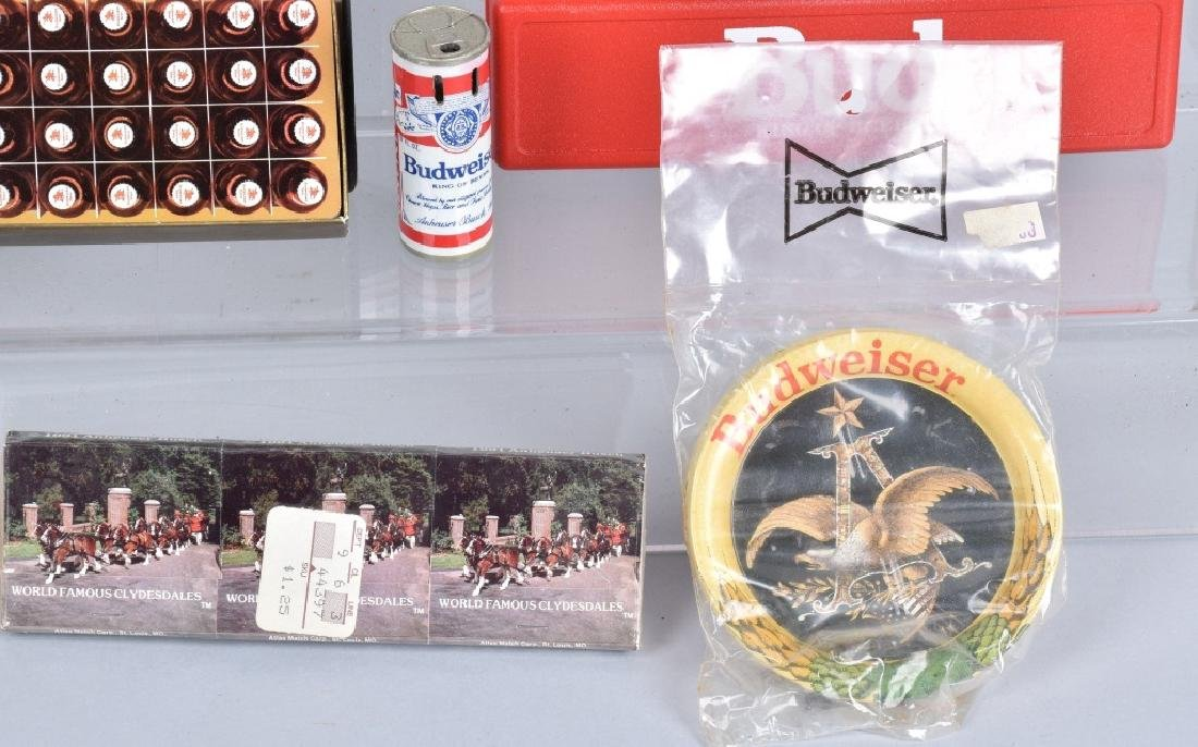 Lot of VINTAGE BUDWEISER ITEMS - 4
