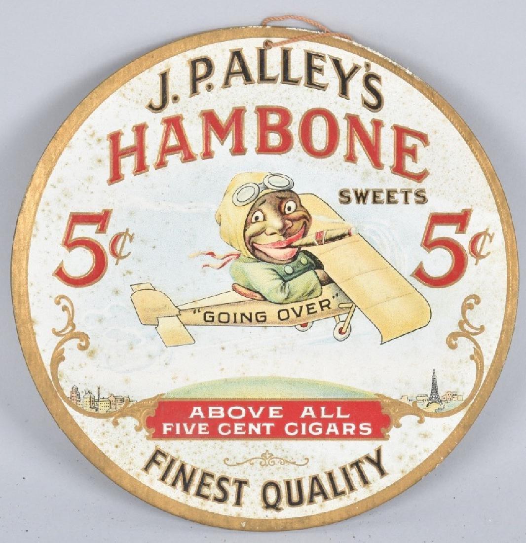 JP ALLEYS HAMBONE CIGARS BLACK IN PLANE FAN PULL