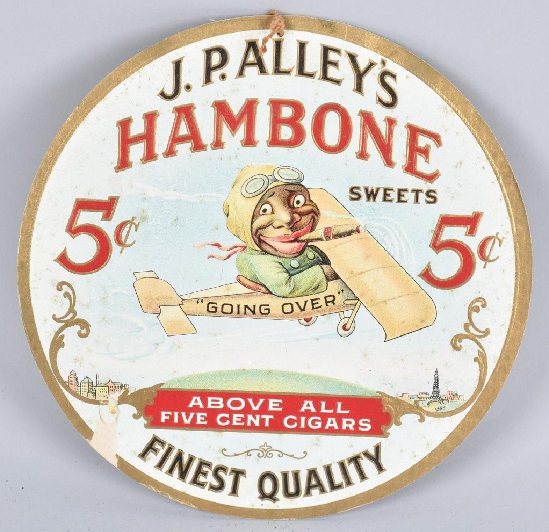 JP ALLEYS HAMBONE CIGARS BLACK IN PLANE FAN PULL - 2