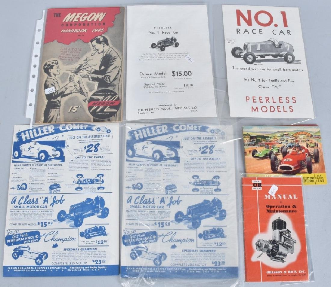 Lot of VINTAGE TOY CATALOGS & PAPERS - 8