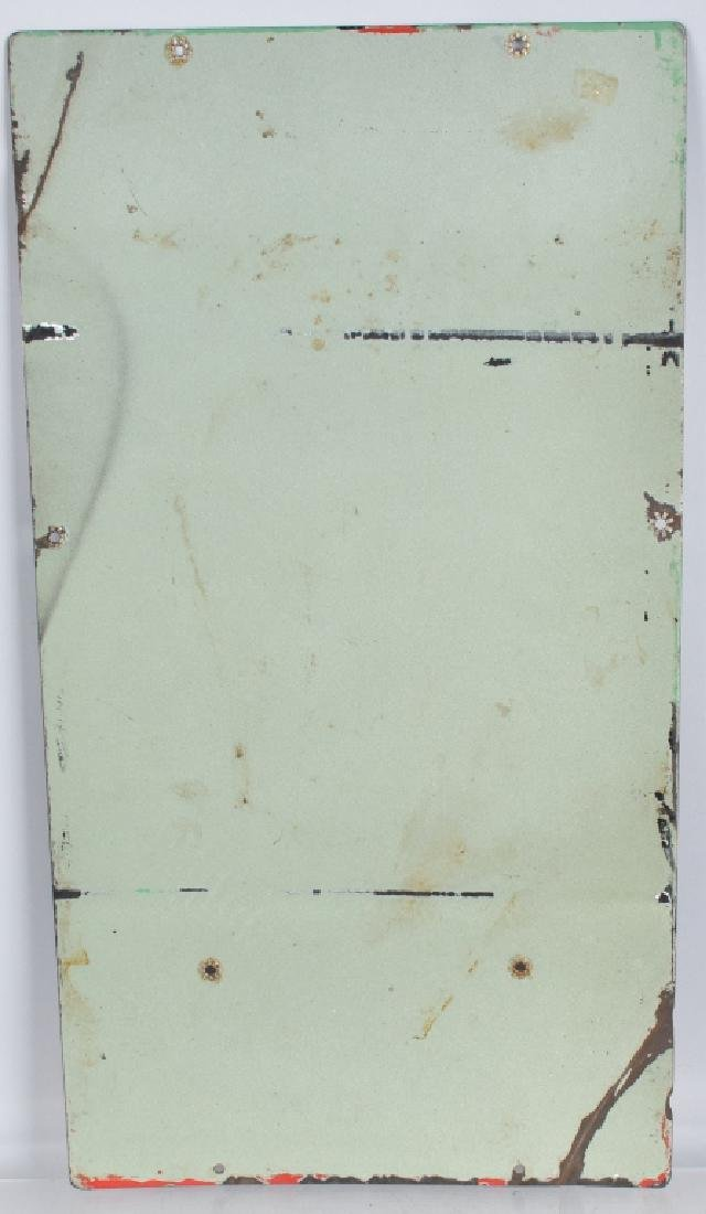 TEXACO SKY CHIEF GASOLINE PORCELAIN SIGN - 4