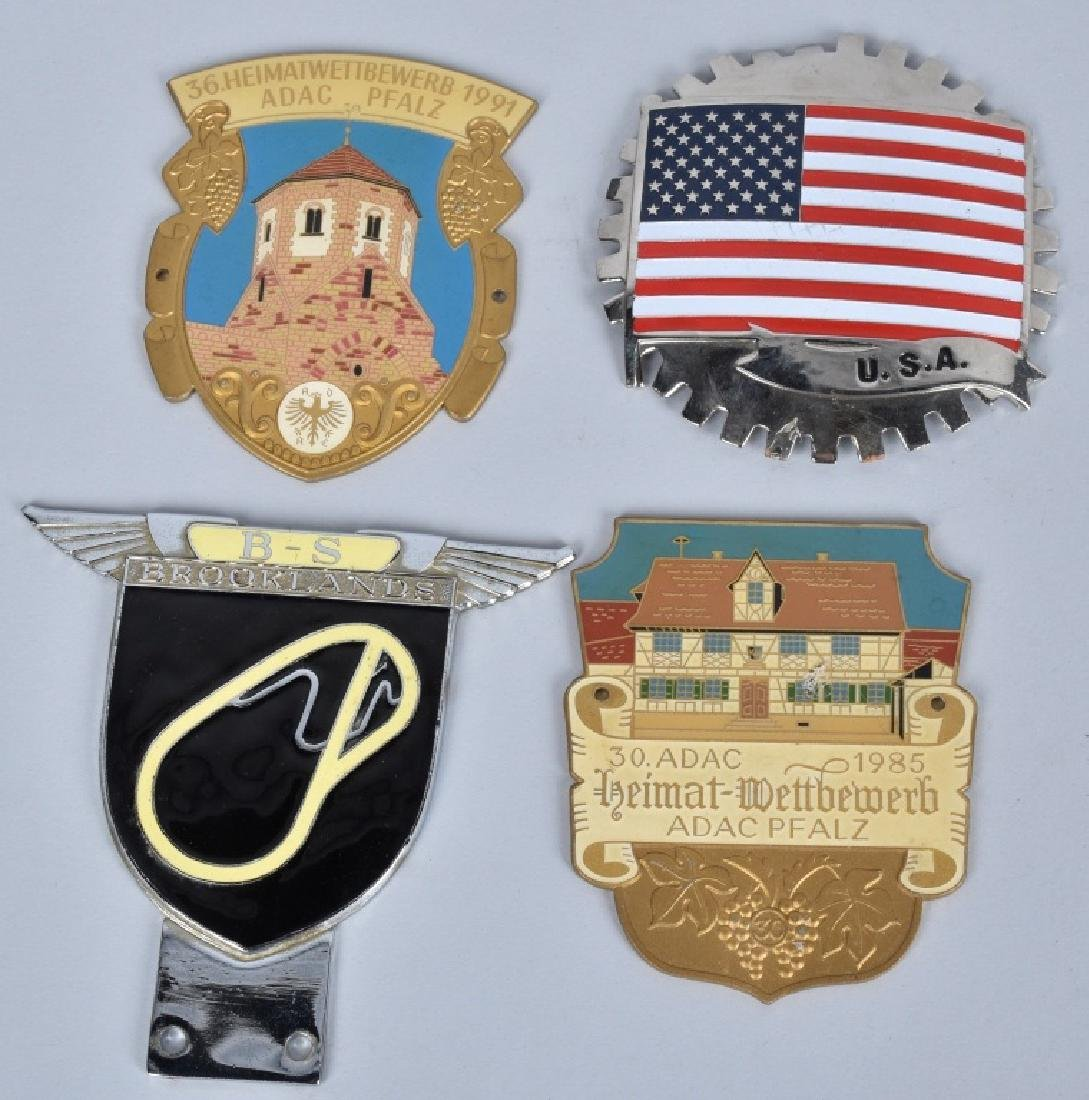 11- VINATGE AUTOMOBILE CLUB BADGES - 2