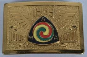 1959 AMA TOUR AWARD BELT BUCKLE