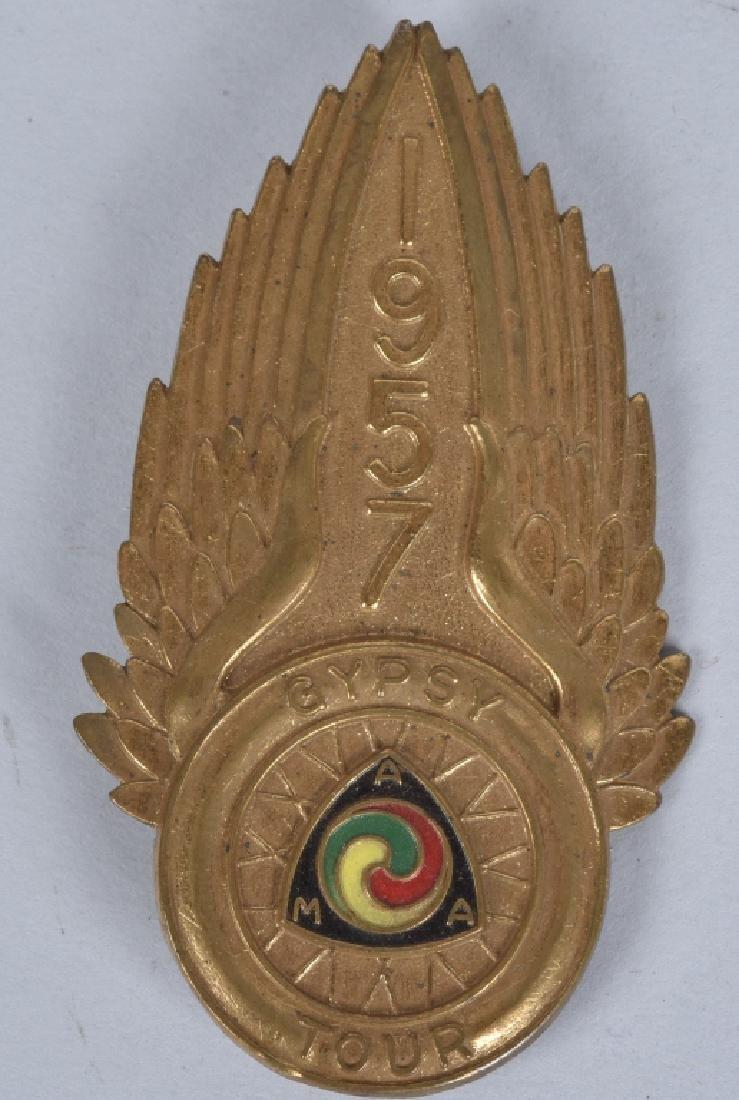 1957 AMA GYPSY TOUR LARGE PIN