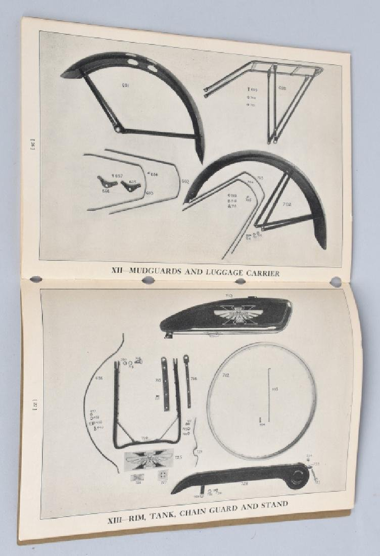 1930 HENDERSON MOTORCYCLE PARTS LIST CATALOG - 6
