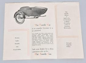 FLXI FAMILY CAR MOTORCYCLE SIDECAR BROCHURE