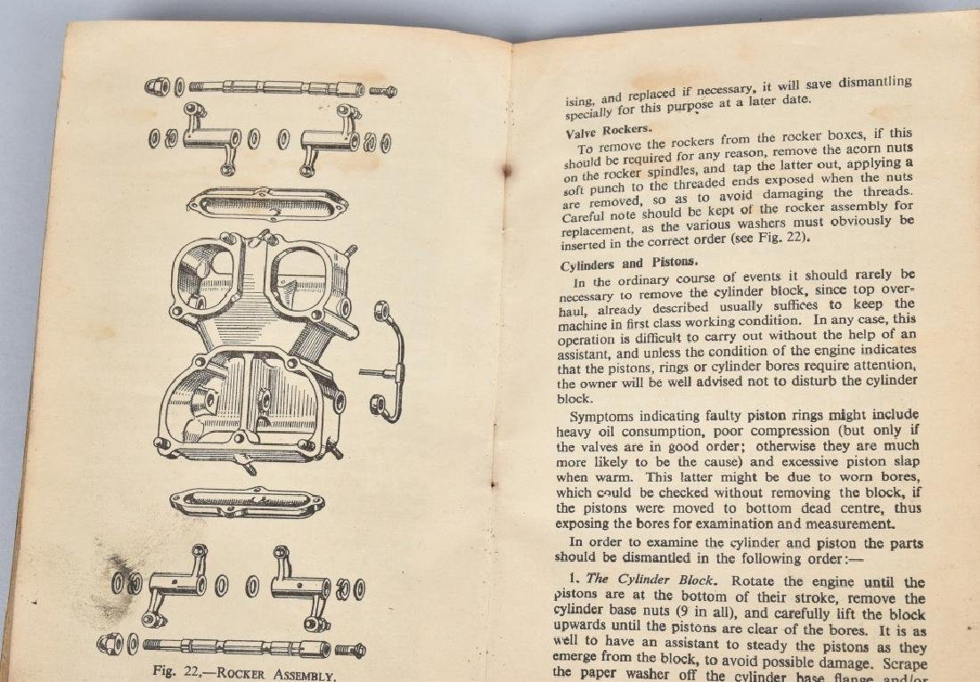 1953 BSA MOTORCYCLE INSTRUCTION MANUAL - 3