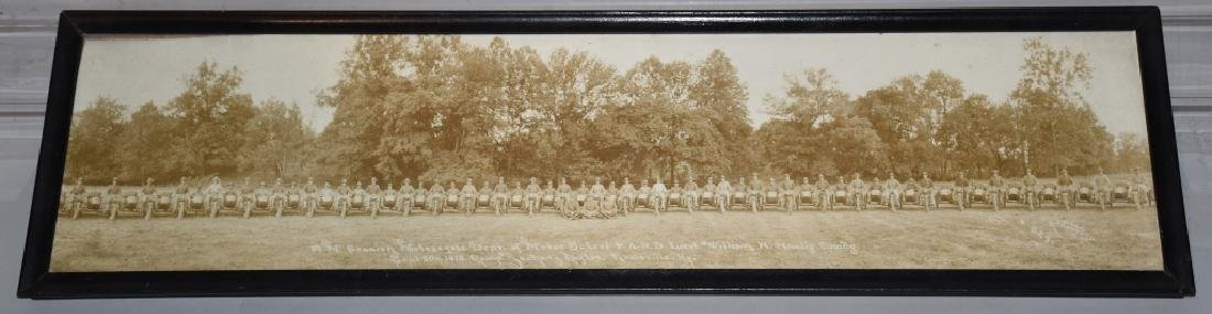 1918 HARLEY DAVIDSON MOTORCYCLE YARD LONG PICTURE