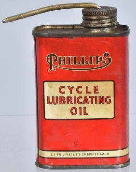 PHILLIPS CYCLE OIL 6oz CAN