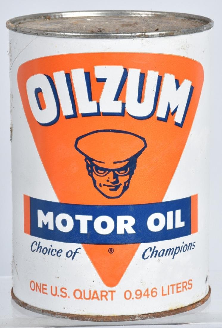 6- OILZUM MOTORCYCLE OIL 1 QUART CANS - 2