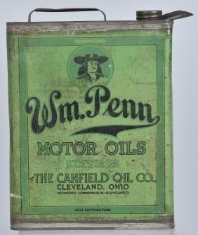 WILLIAM PENN MOTORCYLE OIL 1 GALLON CAN