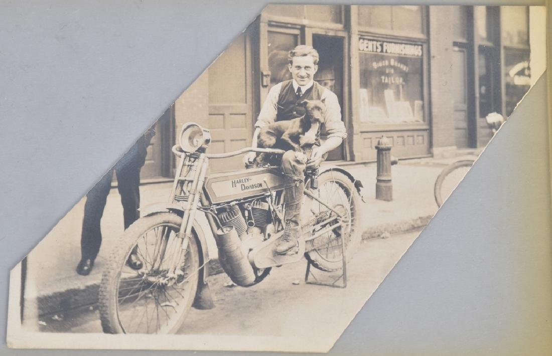 5- EARLY MOTORCYCLE POSTCARDS - 2