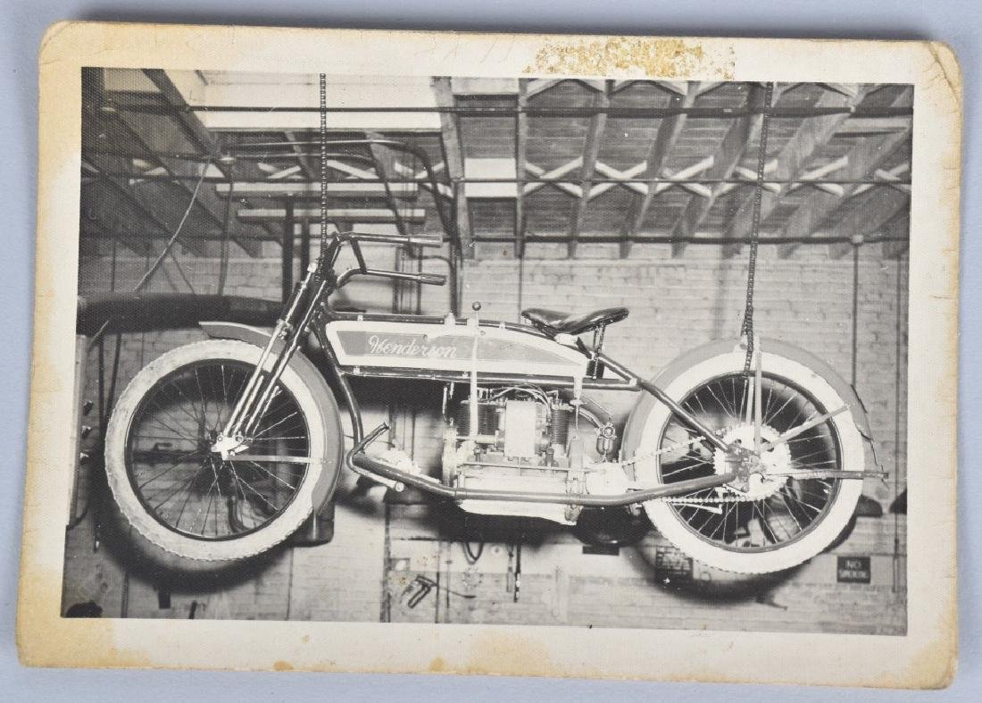 5- EARLY MOTORCYCLE POSTCARDS - 5