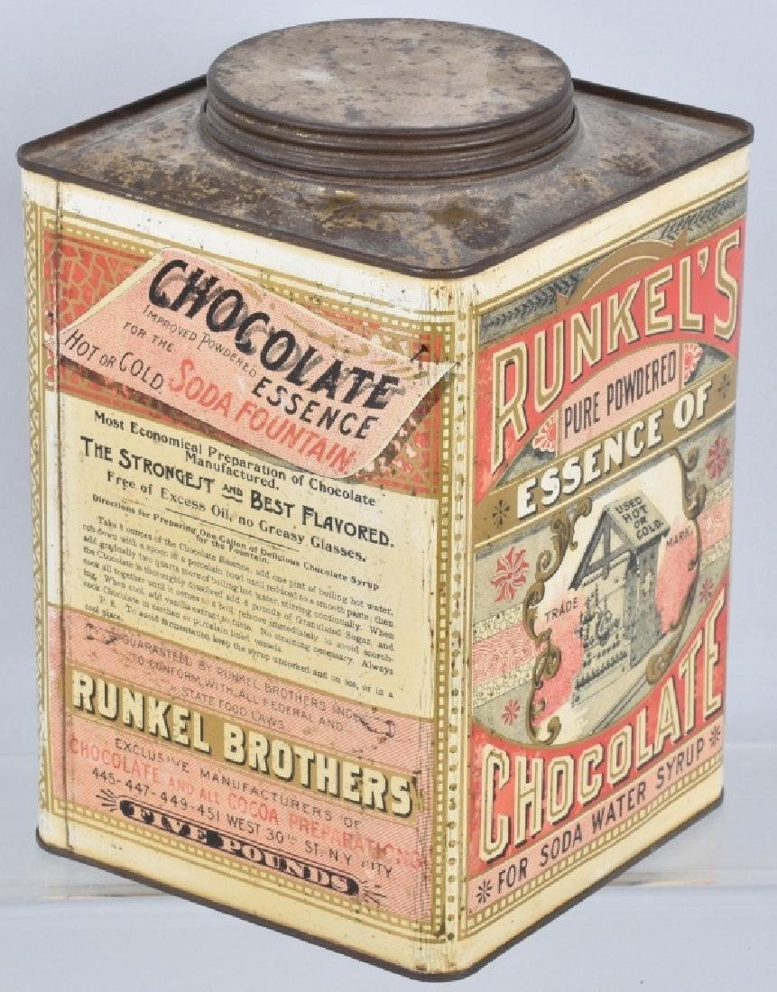 RUNKEL'S CHOCOLATE POWDER TIN - 2