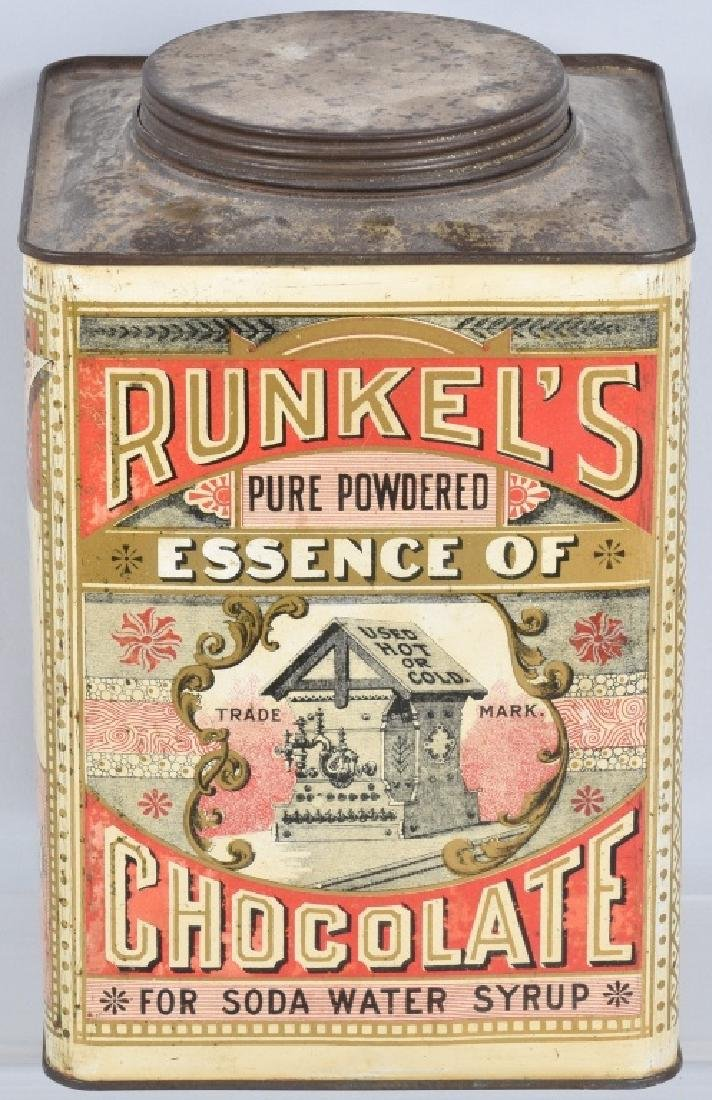 RUNKEL'S CHOCOLATE POWDER TIN - 4