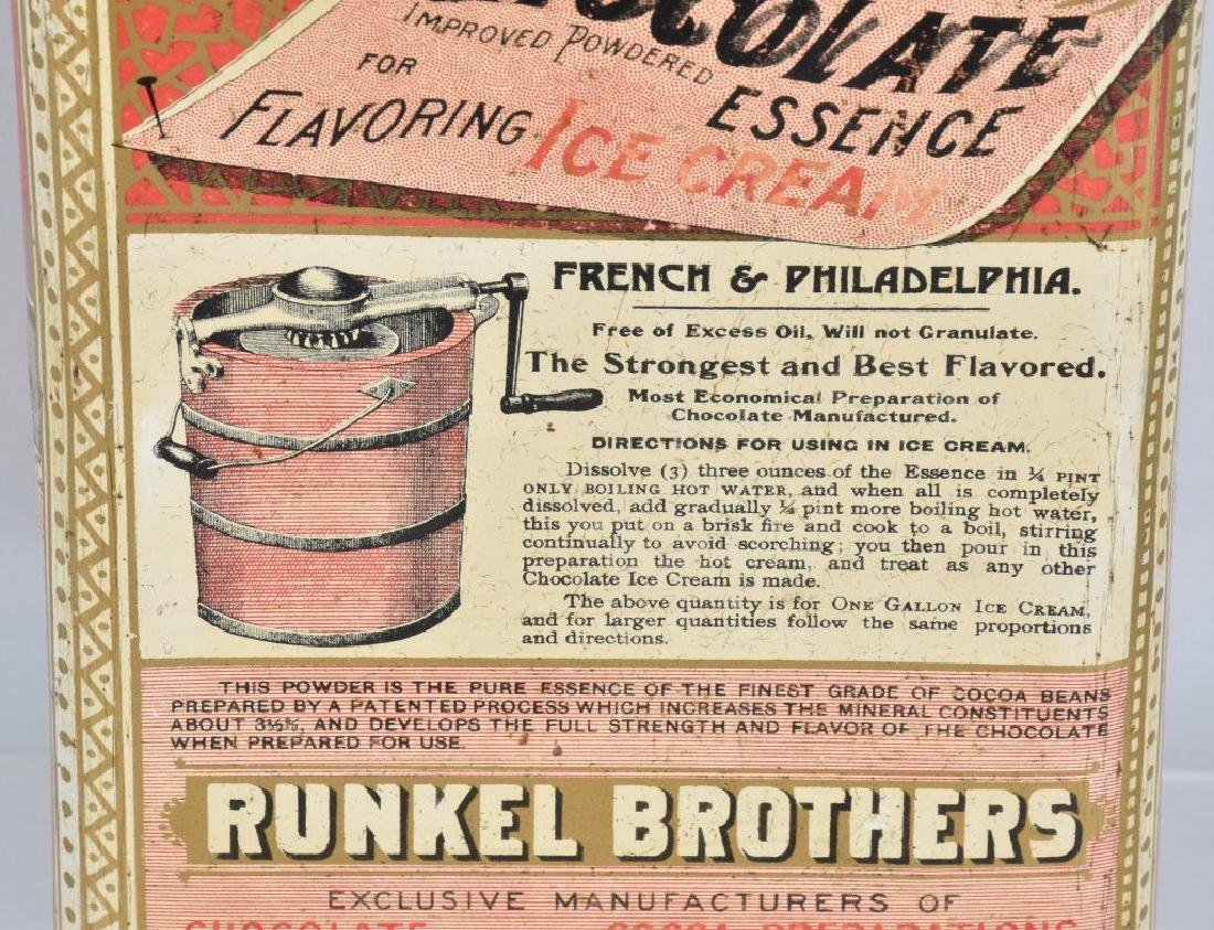 RUNKEL'S CHOCOLATE POWDER TIN - 5