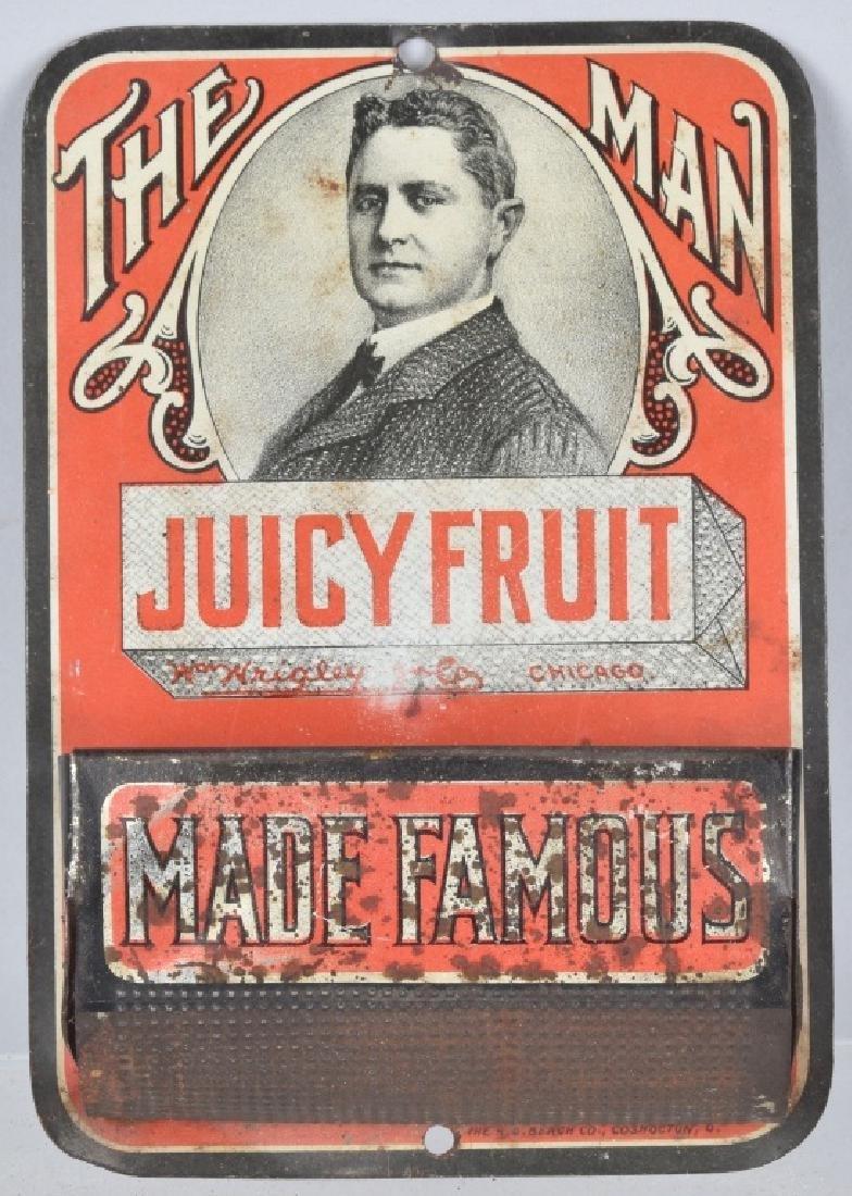 "JUICY FRUIT ""THE MAN"" MATCH HOLDER"
