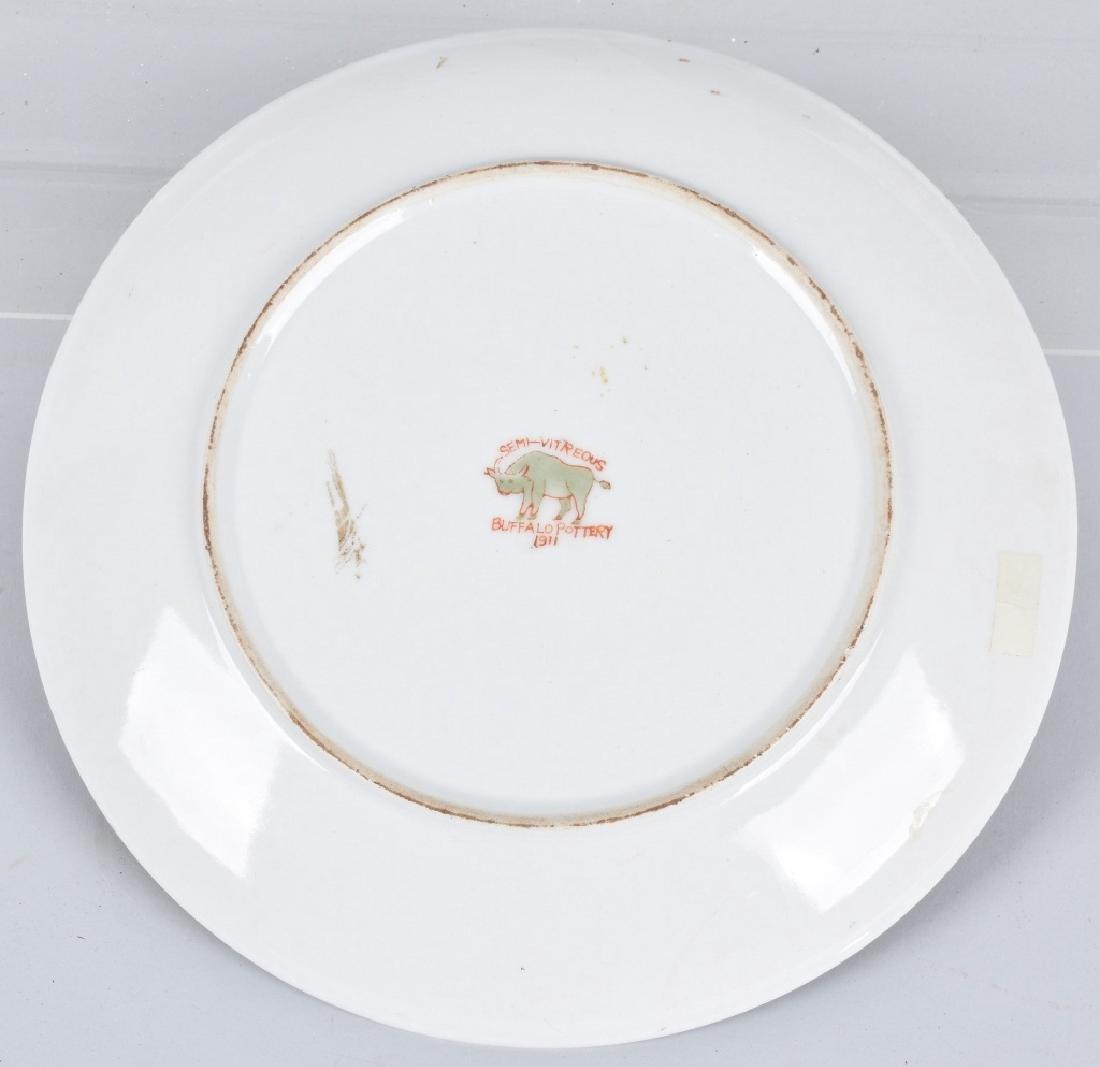 Buffalo Pottery HAMBONE CIGARS ADVERTISING PLATE - 2