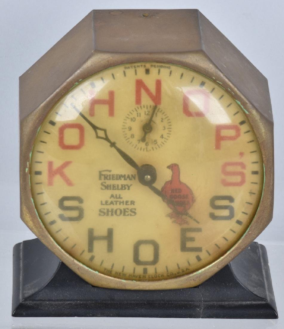 KOHNOPS SHOES RED GOOSE ALARM CLOCK
