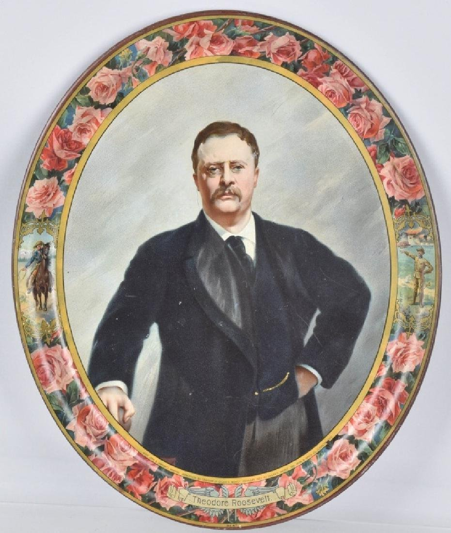1903 COLLIER'S WEEKLY THEODORE ROOSEVELT TRAY