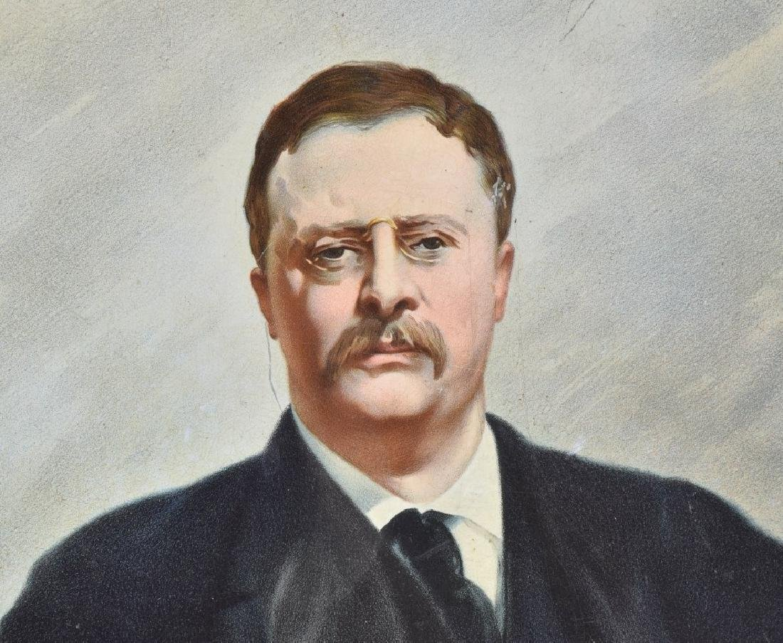 1903 COLLIER'S WEEKLY THEODORE ROOSEVELT TRAY - 2