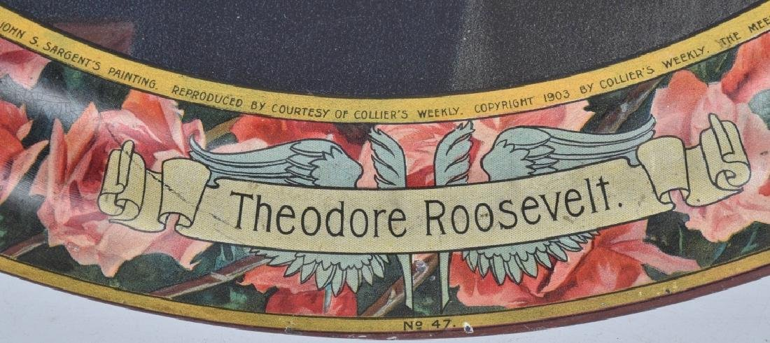 1903 COLLIER'S WEEKLY THEODORE ROOSEVELT TRAY - 5