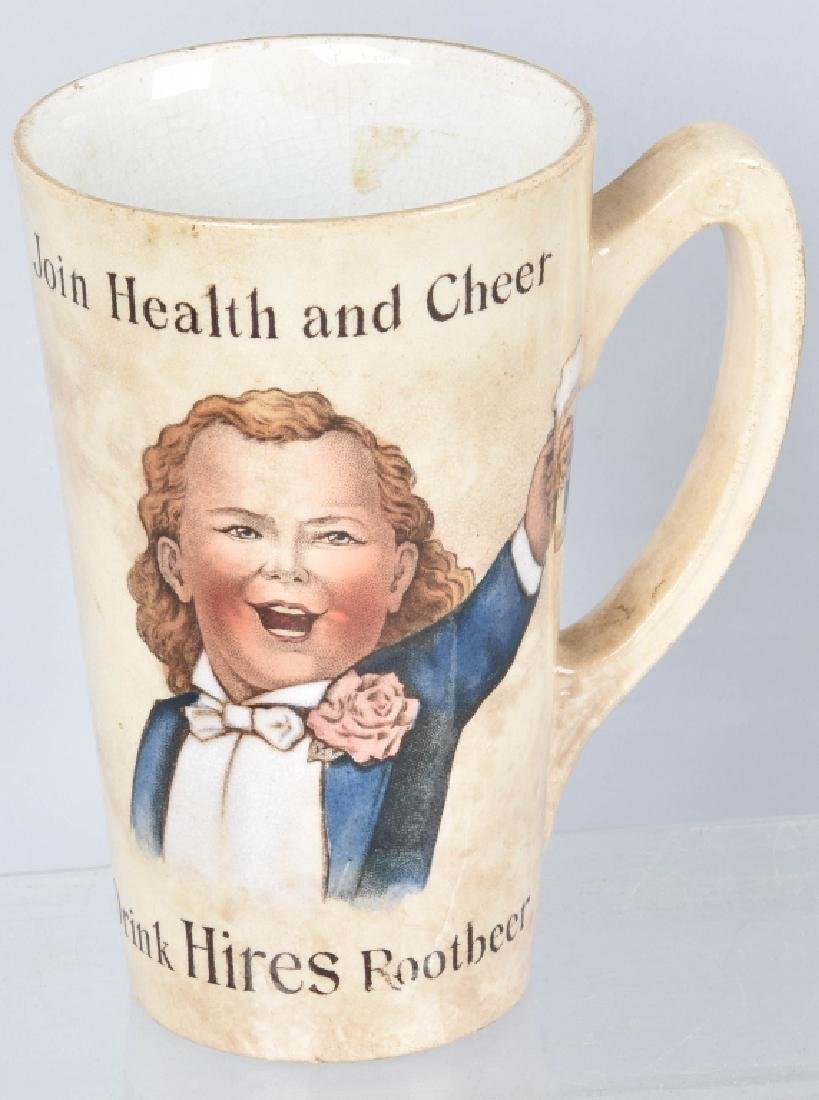 4-ADVERTISING MUGS, HIRES, ISALY'S and NESTLE'S - 4